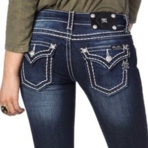 WAY HOT Miss Me JP5014 Boot Cut Jeans